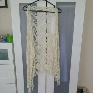 Size 8 Crochet Beach Top