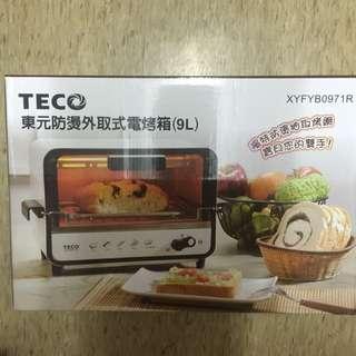 Teco 東元防燙外取式電烤箱(9L)