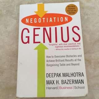 Negotiations Genius