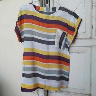 Preloved Colorful Shirt