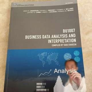 Business Data Analysis And Interpretation