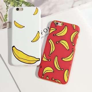 iphone6手機殼/可愛手繪香蕉