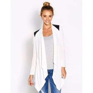 DOTTI White Waterfall Cardigan
