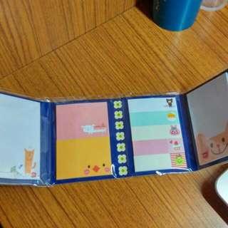 🚚 【文具】可愛便利貼 4種造型 含運
