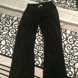 Peter Alexander - Long Black Trackie Pants