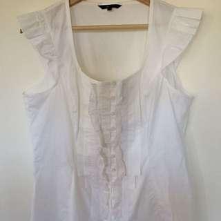 White Cue Shirt