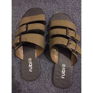 Army Green Colour Sandals
