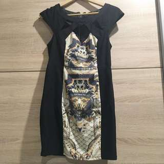 Paradise Dress With Cut Outs