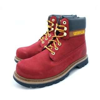 BNIB CATERPILLAR: Colorado 6 Boots (Red)