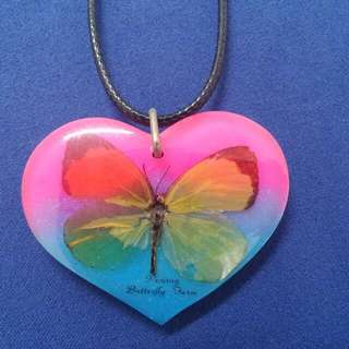Butterfly Necklace From Penang
