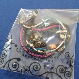 Bracelet With 'A' Initials