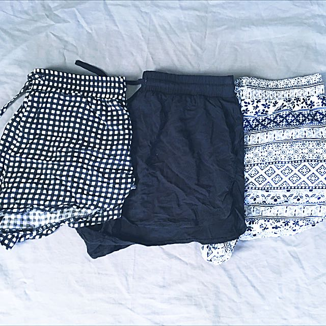 3 For $12 Shorts!!