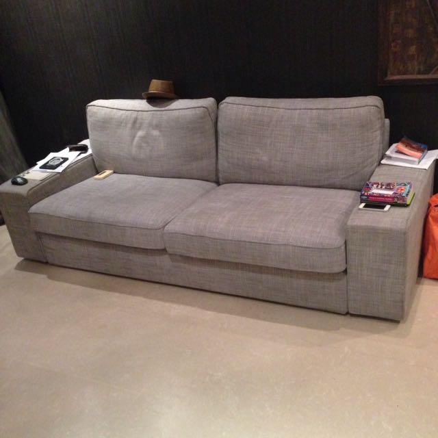 3 Seater Sofa Ikea Furniture On Carousell