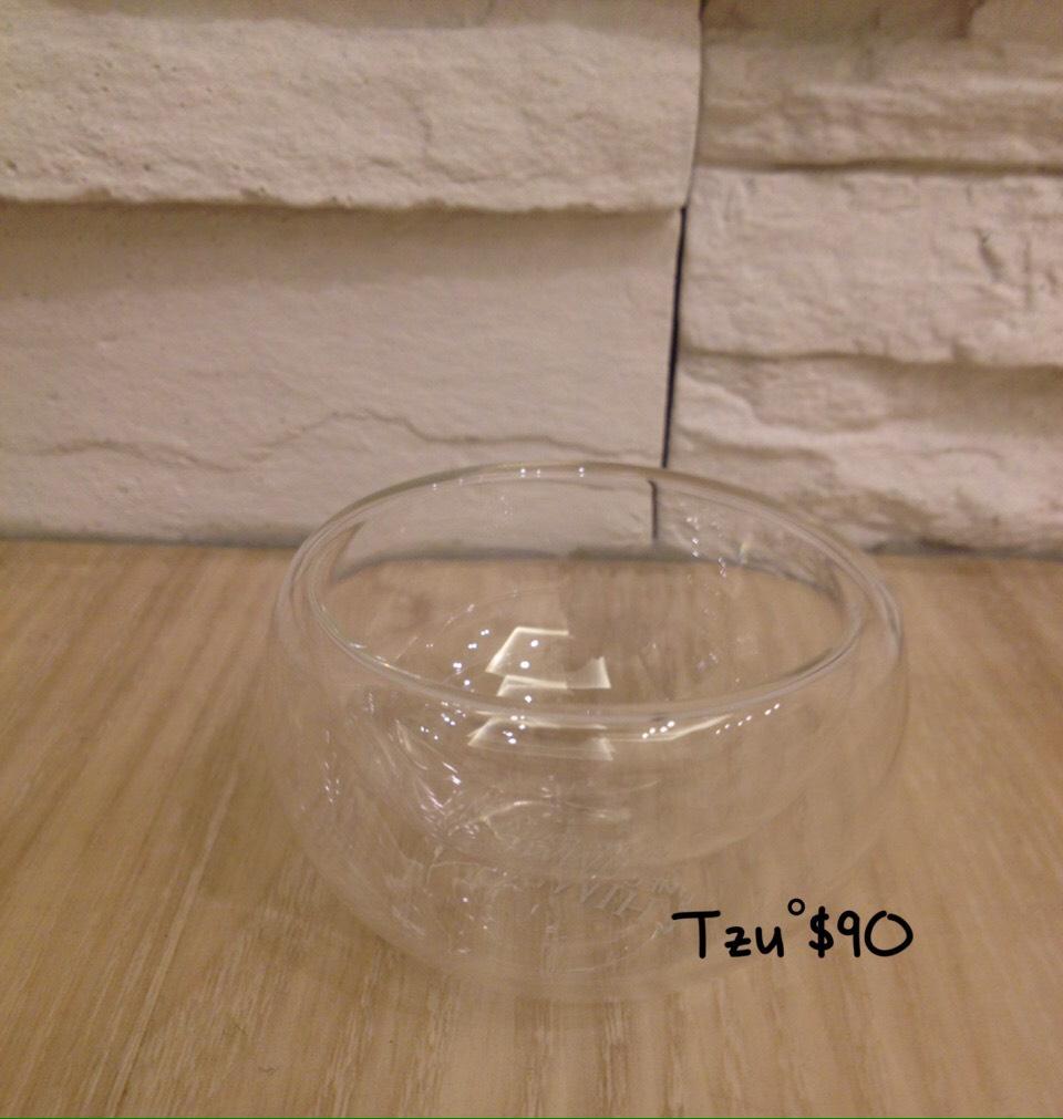 耐熱透明雙層玻璃杯,50ML,全新商品。(一次購買十個,優惠$850)