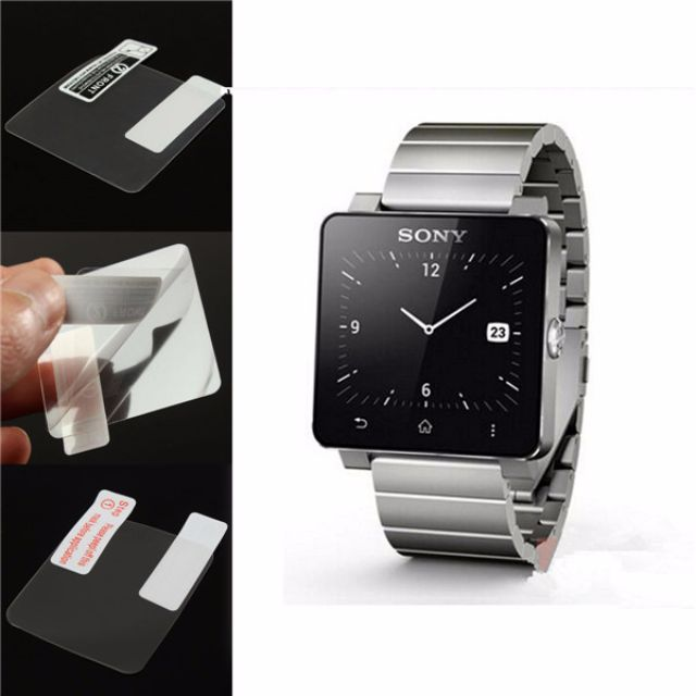 5x CLEAR LCD Screen Protector Film for Sony SW2 SmartWatch 2