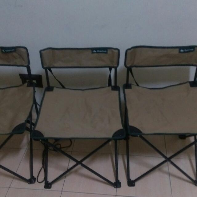 迪卡農折疊椅