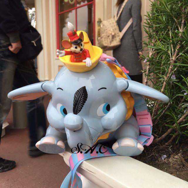 東京迪士尼小飛象爆米花桶