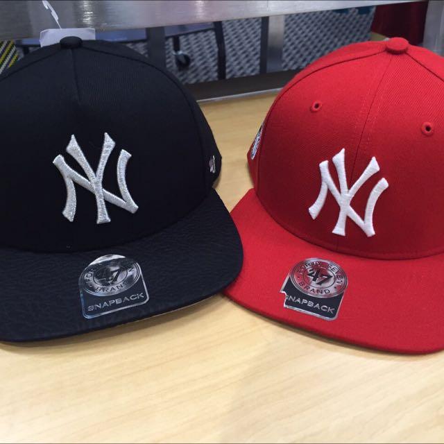 洋基 後扣式 棒球帽
