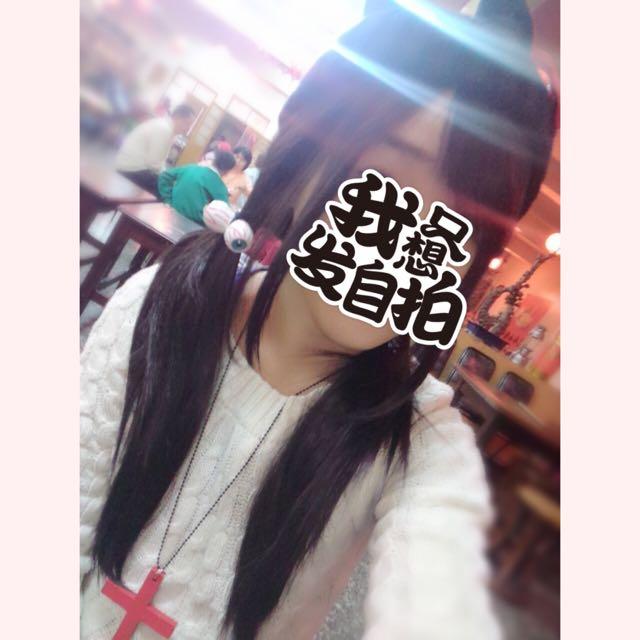 黑假髮 日常 COSPLAY 直長