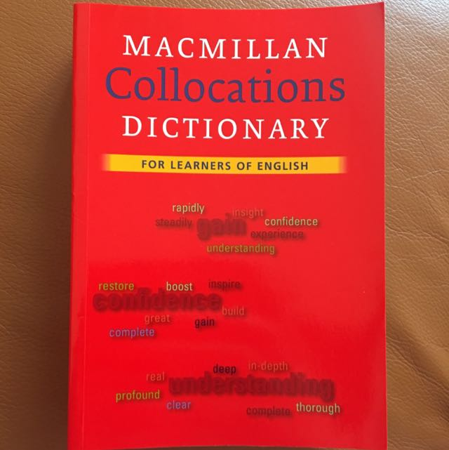 全新 📚Macmillan Collocations Dictionary Book📖 #英文 語言書