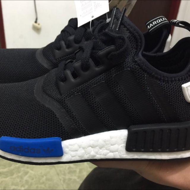 adidas NMD 鞋 黑藍