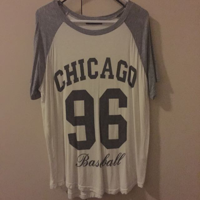 chicago baseball loose shirt