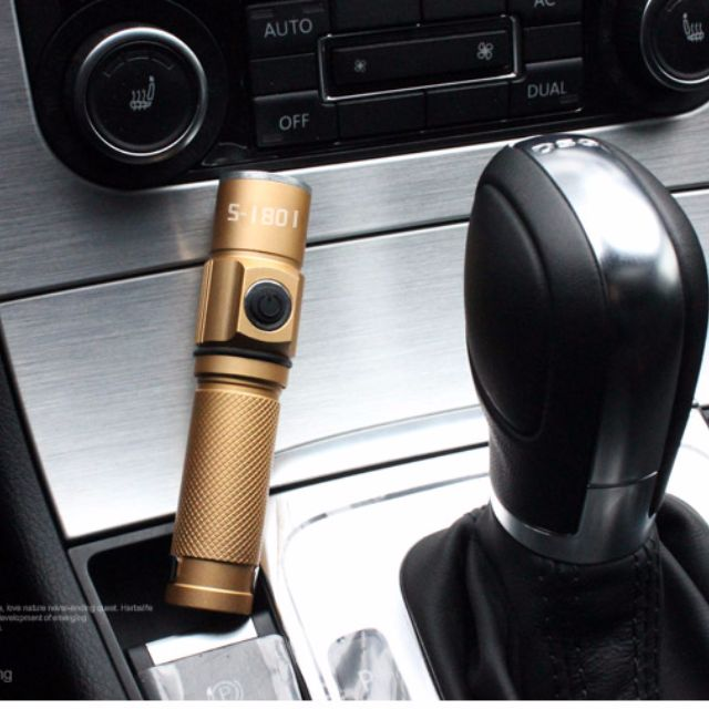 CREE XPE 300流明度 LED 袖珍迷你鋁合金戶外強光手電筒