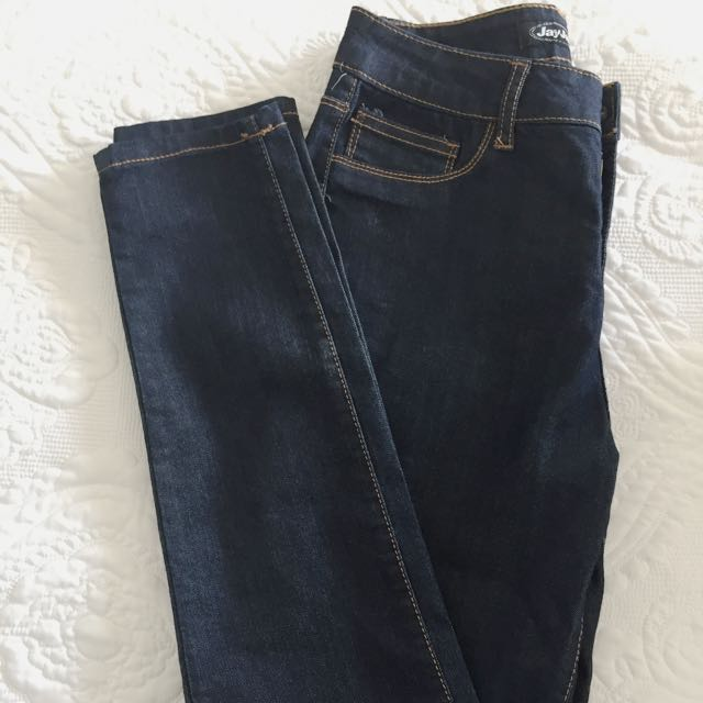 Dark Blue Jeans From Jay Jays