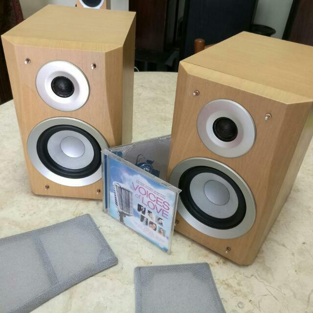 Denon Bookshelf Speakers Music Media On Carousell
