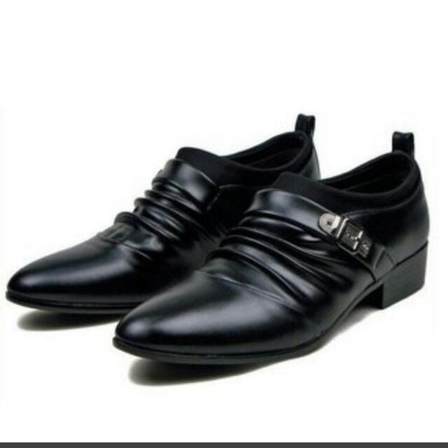 Fashion Soft Leather Shoes, Men's