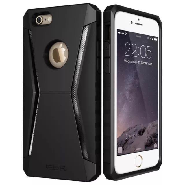 promo code f7fe5 484f5 iPhone 6s Plus / 6 Plus Case, ESR Hybrid Protective Case Bumper Case  [Scratch-Resistant][Shock Absorbent][Perfect Fit][Anti-Slip Grip] Cover for  4.7 ...