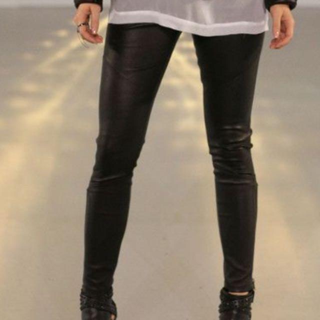 SALE 💥 Kookai Biker Leather Pants