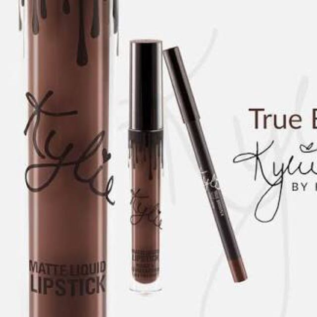 Kylie Jenner Lip Kit True Brown K
