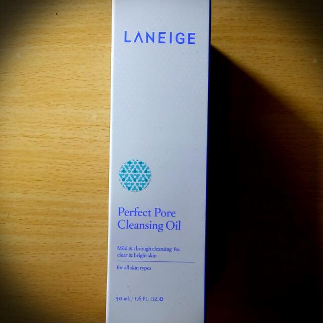 Laneige蘭芝-毛孔淨化潔顏油