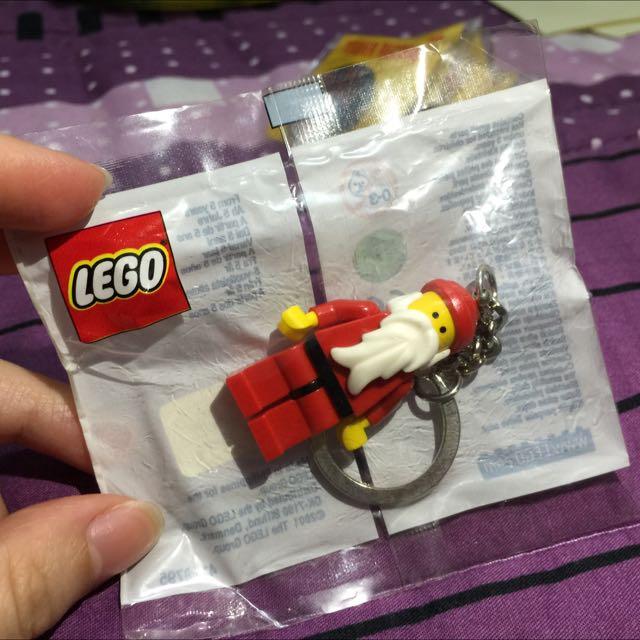 LEGO樂高聖誕老人鑰匙圈