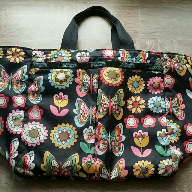二手《絕版》lesportsac手提包 手提袋