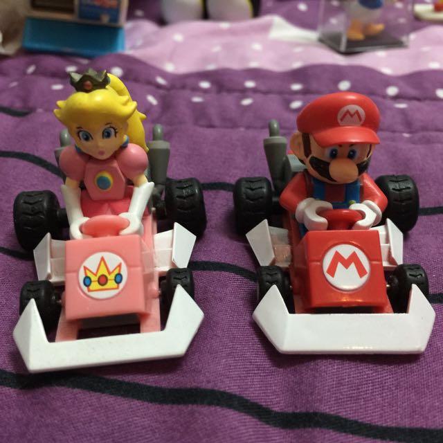 瑪利歐Mario賽車系列扭蛋