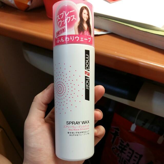 Mod S Hair Spray Wax 定型噴霧