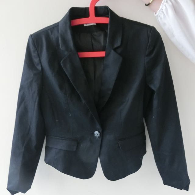 Net女版修身西裝外套