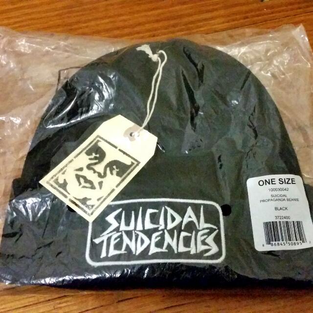 Obey X Suicidal Tendencies beanies