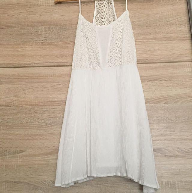 PaperScissors White Beach Dress