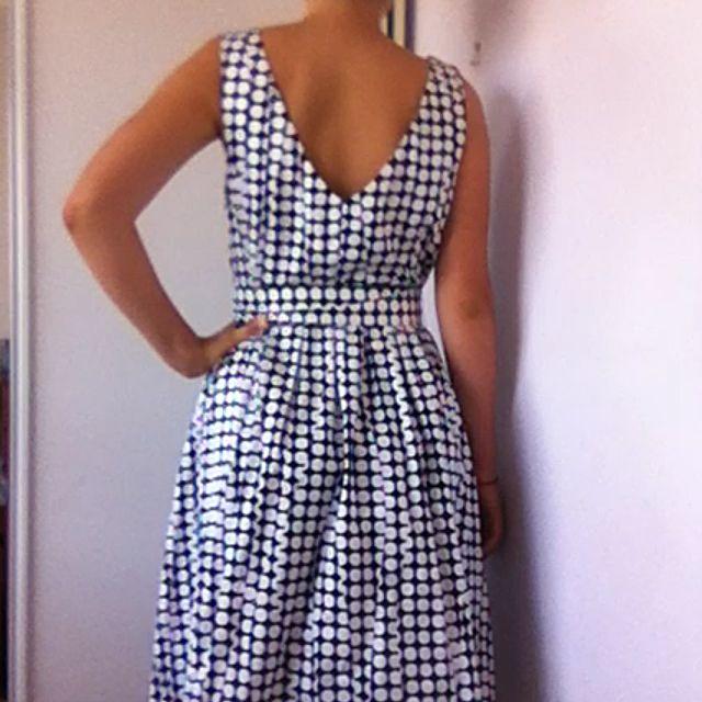 Polka Dot Illusion Dress
