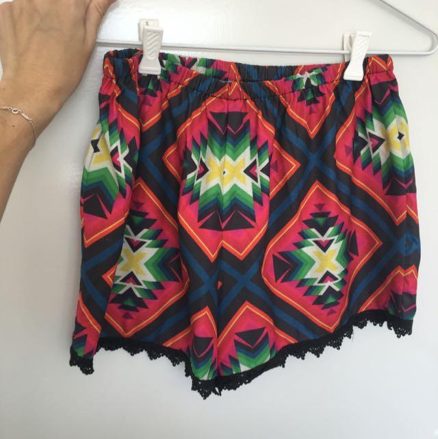 SABO SKIRT Kaleidoscope Shorts