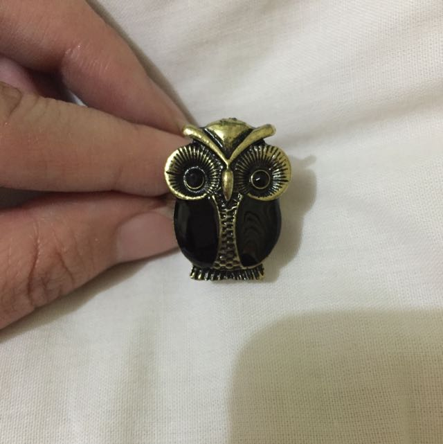 SALE - Owl Ring