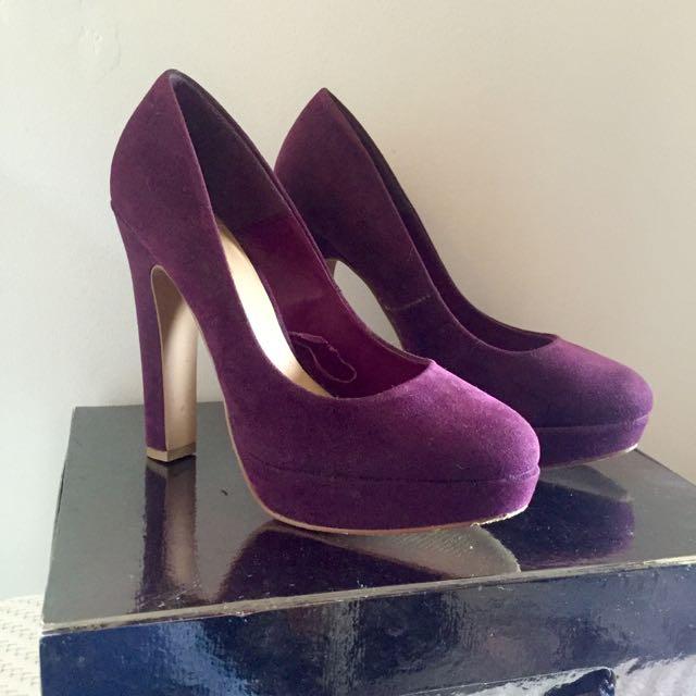 Size 6 Purple Heels