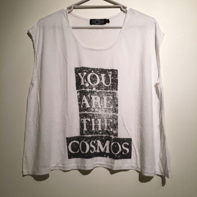 Size XS White T shirt