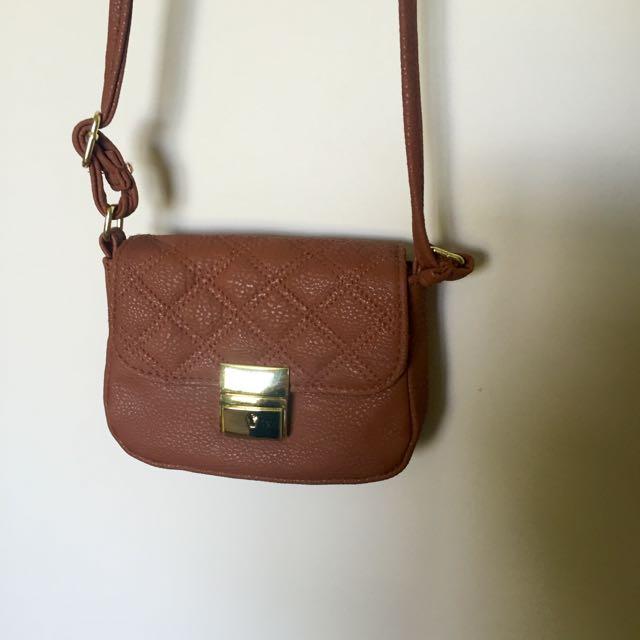 Small ASOS Tan Bag