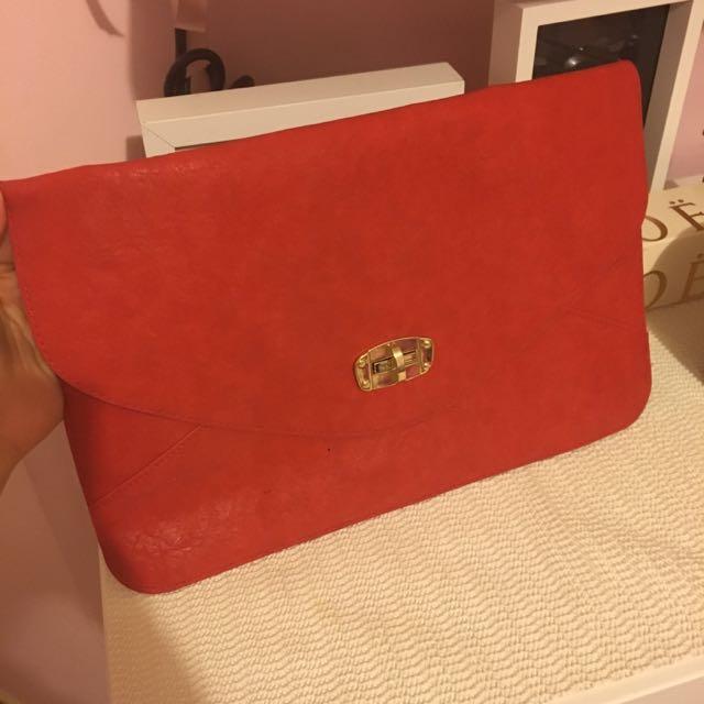 Sportsgirl Envelope Bag