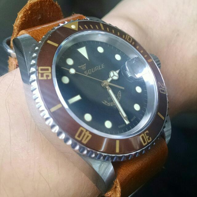 squale 20 atmos 1545 heritage luxury on carousell