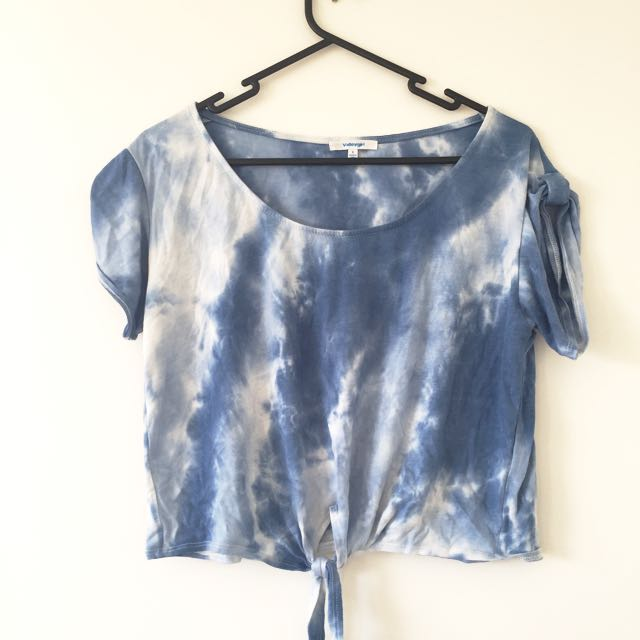 Tie Dyed Crop Top